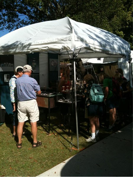 Lisa_Bailey_selling_at_the_Sidewalk_Art_Fair_Winter_Park_FL